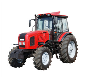 Just a photo of a tractor