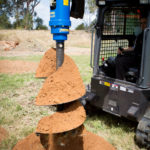 Solaris Attachments Auger Systems and Earth Drill