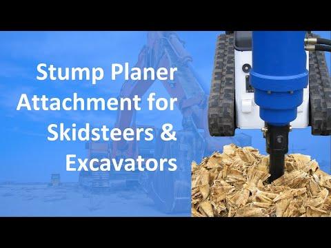 Stump Planer (Short video)