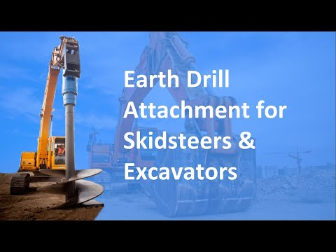 Solaris Auger Systems and Earth Drills Video