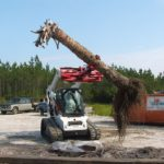 Solaris Rock and Tree Handlers - Skidsteer Attachments - Solaris Attachments