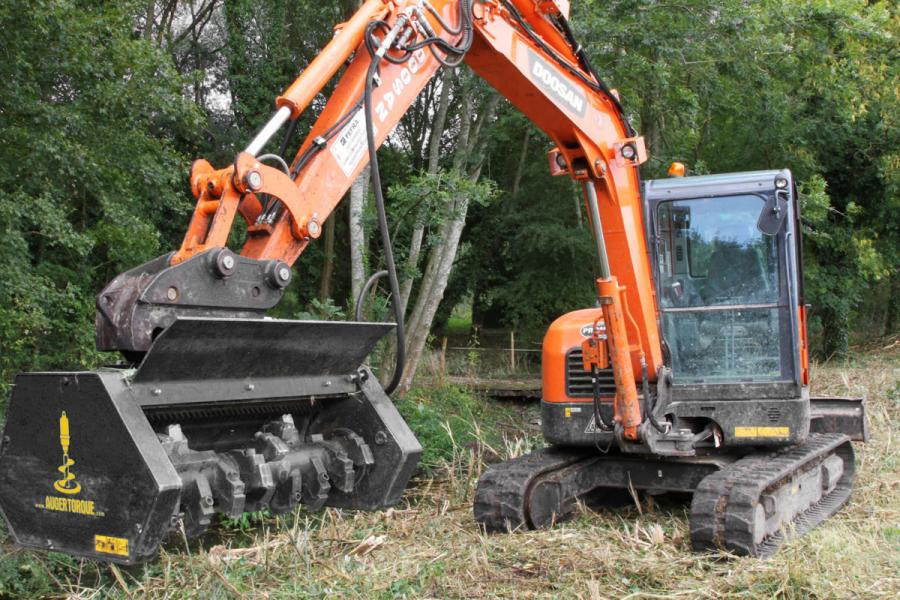Land Clearing - Construction Attachments - Solaris Attachments