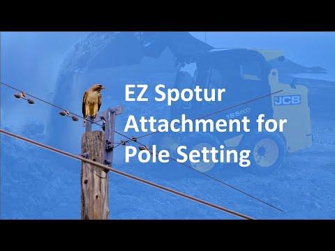 EZ Spotur Attachment for Pole Setting (Part 1) | Solaris Attachments